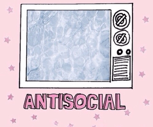 overlay, antisocial, and pastel image