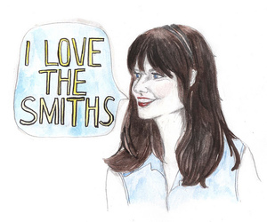 500 Days of Summer, drawing, and the smiths image