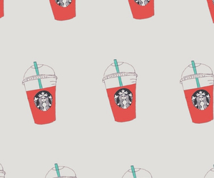 starbucks, background, and pale image