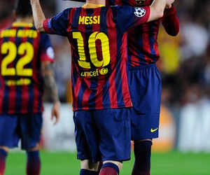 foot, messi, and football image