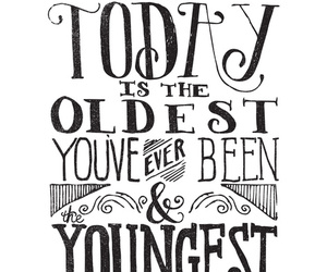 quotes, young, and today image