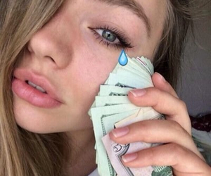 girl, money, and grunge image
