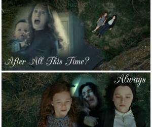 harry potter, sad, and severus snape image