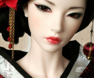 doll, japanese, and asian image