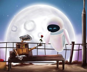 wall-e, love, and disney image