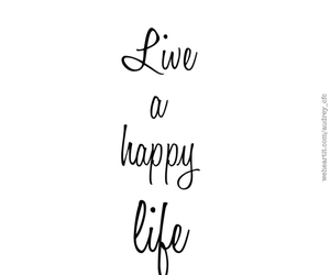 happy, life, and live image