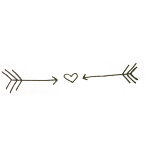 Arrow Heart Bae Discovered By Drexmwxtcher On We Heart It