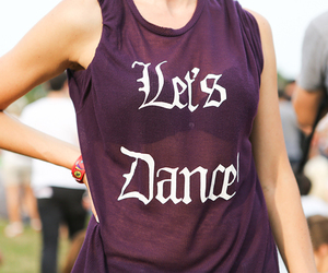 dance, Lollapalooza, and Teen Vogue image