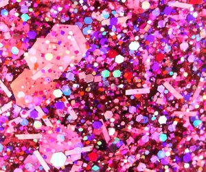 pink, wallpaper, and glitter image