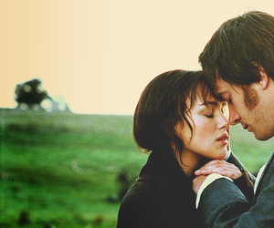pride and prejudice, love, and couple image