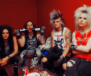 crashdiet, simon cruz, and martin sweet image