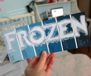 frozen, tumblr, and blue image