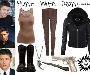 boots, clothes, and dean winchester image