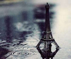 paris, rain, and photography image