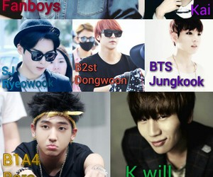 beast, fanboys, and kpop image