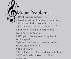 band, problems, and band geek image