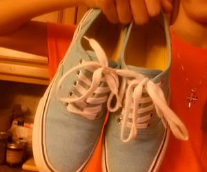 blue, shoes, and tumblr image