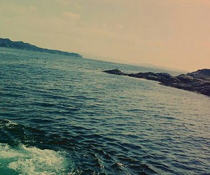 sea, vintage, and water image