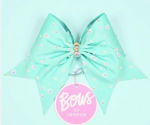 cheer, mint, and cheer bow image