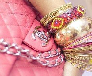 bag, glam, and chanel image