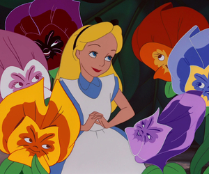 disney and flowers image