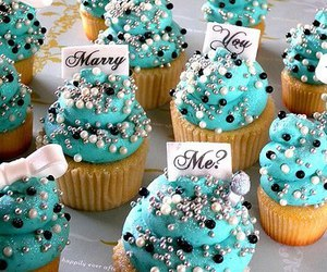 cupcake, food, and marry image