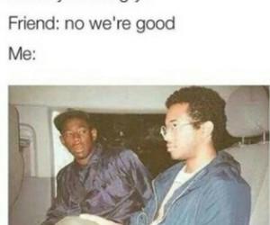 funny, friends, and true image