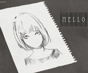 death note, anime, and mello image