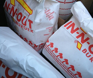 food, burger, and in n out image