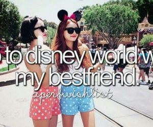 bff, disney, and i want image