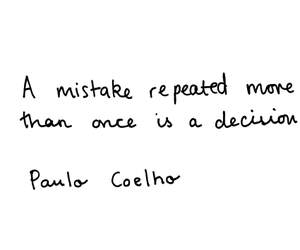 quote, mistakes, and tumblr image