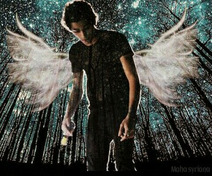 angel, my edit, and zayn malik image