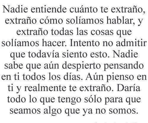 love, frases, and te extraño image
