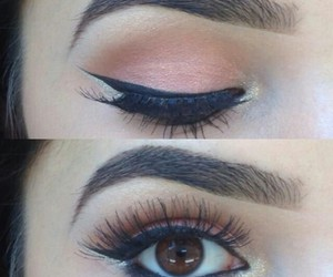 eyeliner, pretty, and simple image