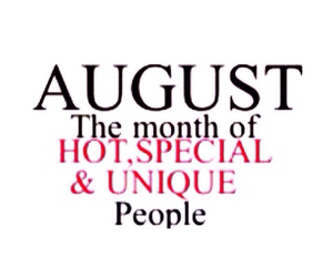 August, gorgeous, and Leo image