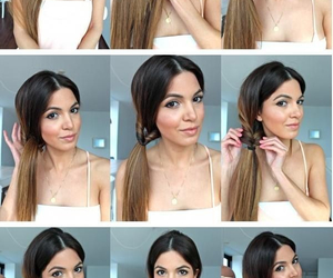 diy, pretty, and hair image