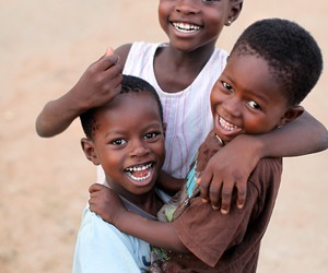 children and smile image
