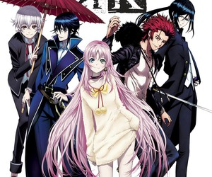 anime and k project image