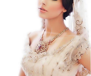 asian, bride, and india image
