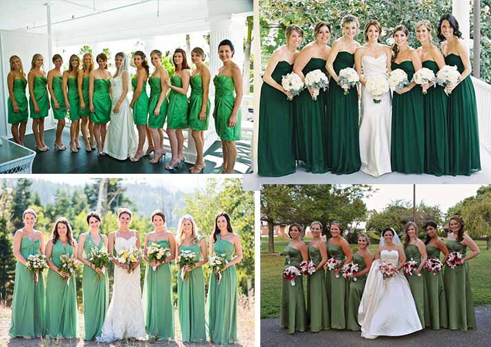 Kissprom Dresses Blog Forest Green Bridesmaid For Camp Wedding