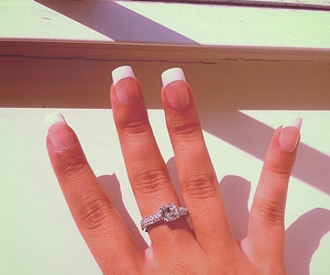 designer, ring, and love image