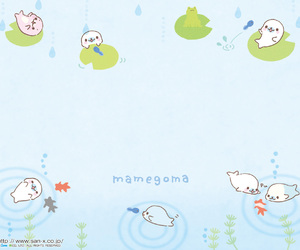 kawaii, sanrio, and mamegoma image