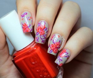 nails, fashion, and manicure image