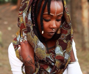 African and beauty image