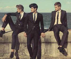 model, boy, and fashion image