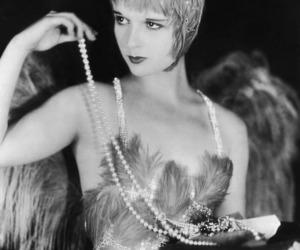louise brooks, 1920s, and feather image