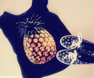 indie, outfit, and pinapple image