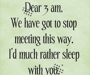 sleep, quote, and text image