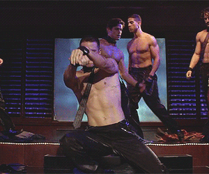 magic mike, channing tatum, and Hot image