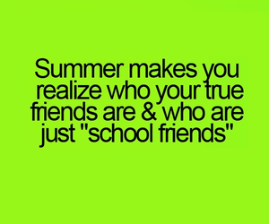 summer, friends, and school image